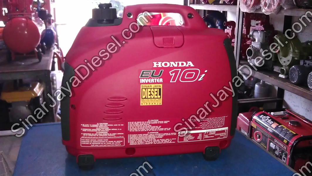 Genset Portable Honda Seri Eu10i Sinar Jaya Diesel