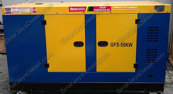 Genset Yamarin 50KW for slide